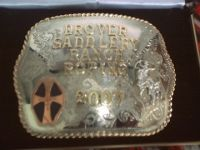 TJ's ranch rodeo buckle