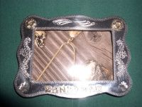 German Silver picture frame