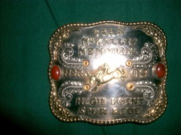McKillip high spur ride engraved
